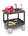 Utility Cart With Pnuematic Wheels