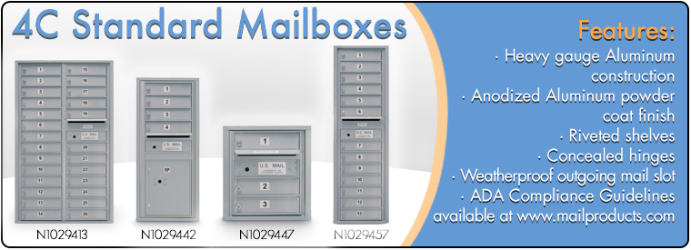 4C Standard Mailboxes