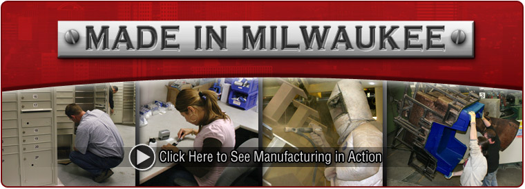 Manufactured in Milwaukee!